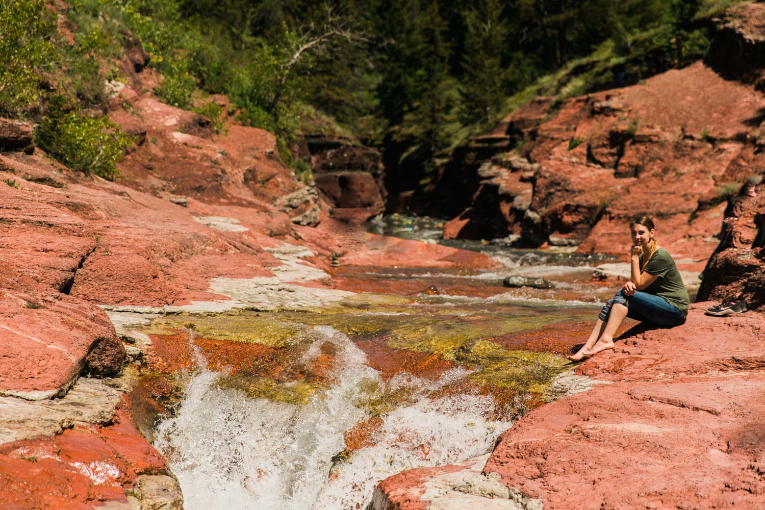 What to do in Waterton photography Jennie Guenard Red Rock Canyon