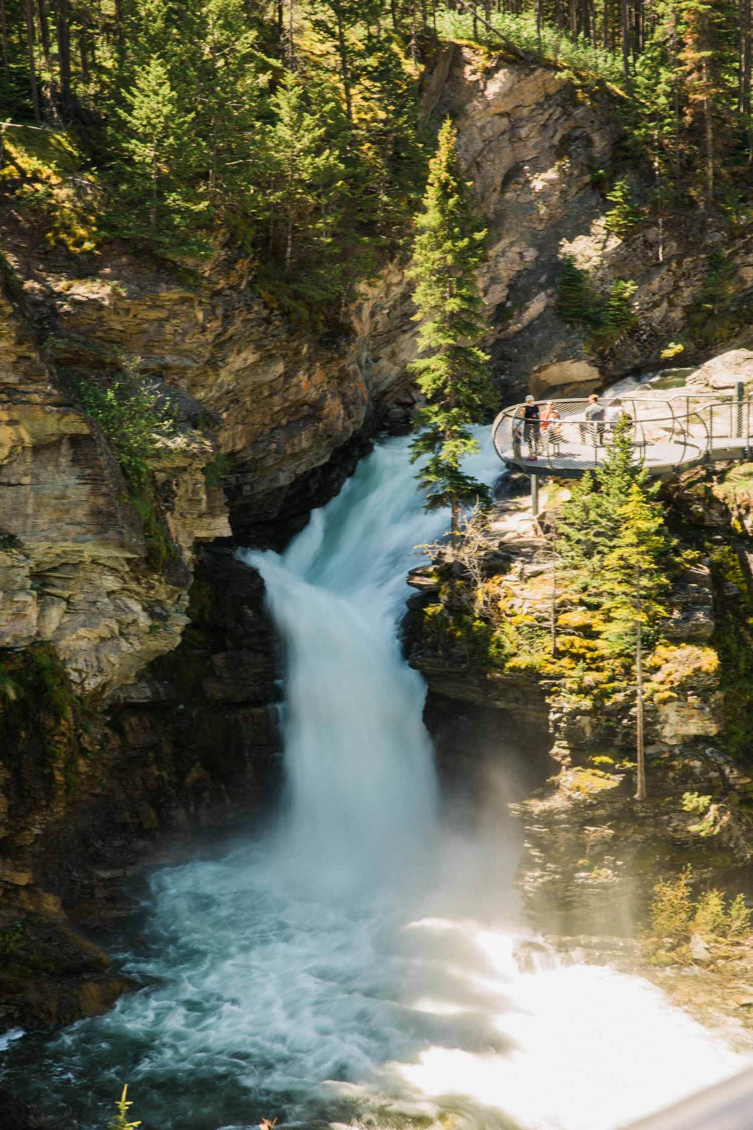 What to do in Waterton photography Jennie Guenard Blakiston Falls