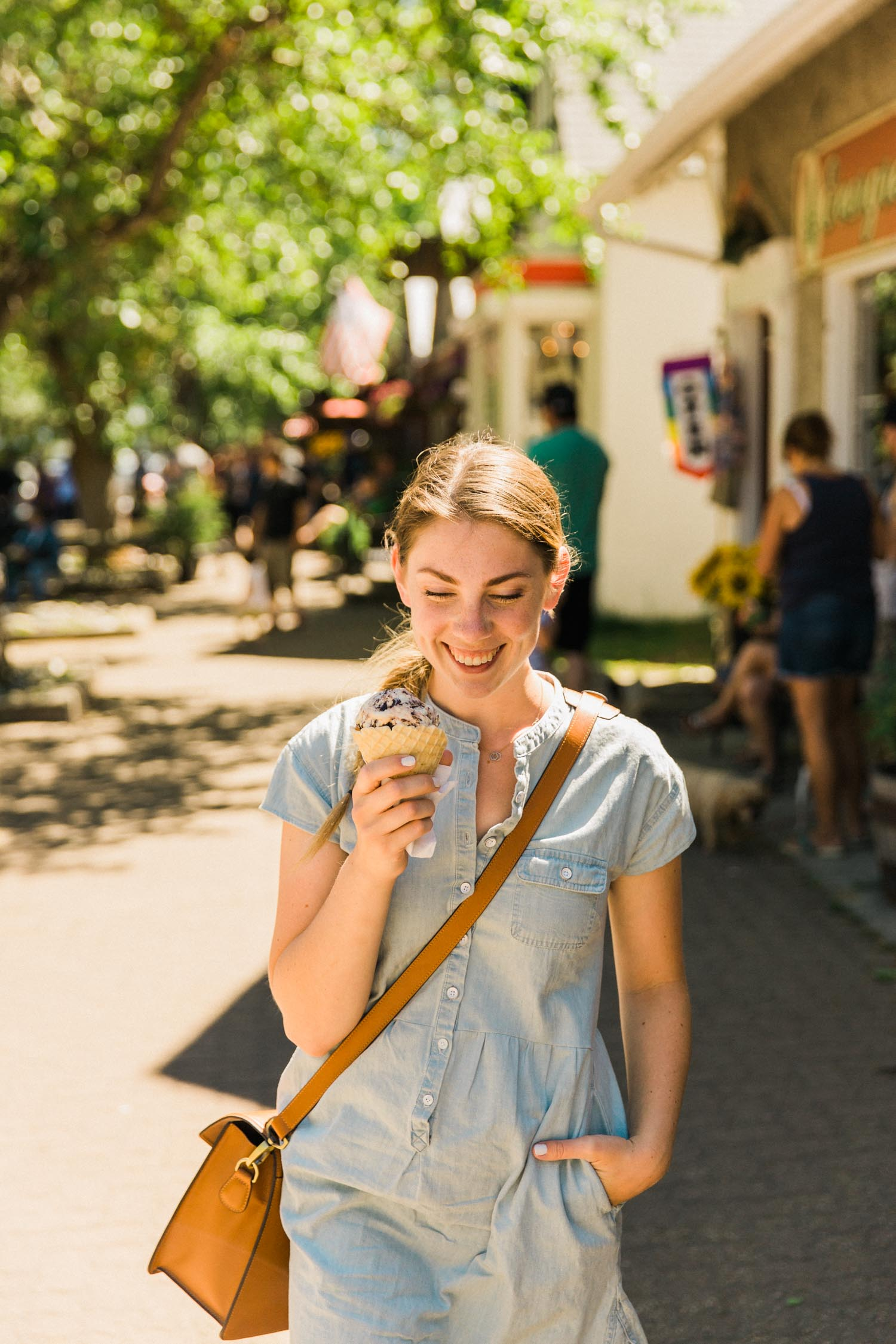 What to do in Waterton photography Jennie Guenard Big Scoop Ice Cream Parlour