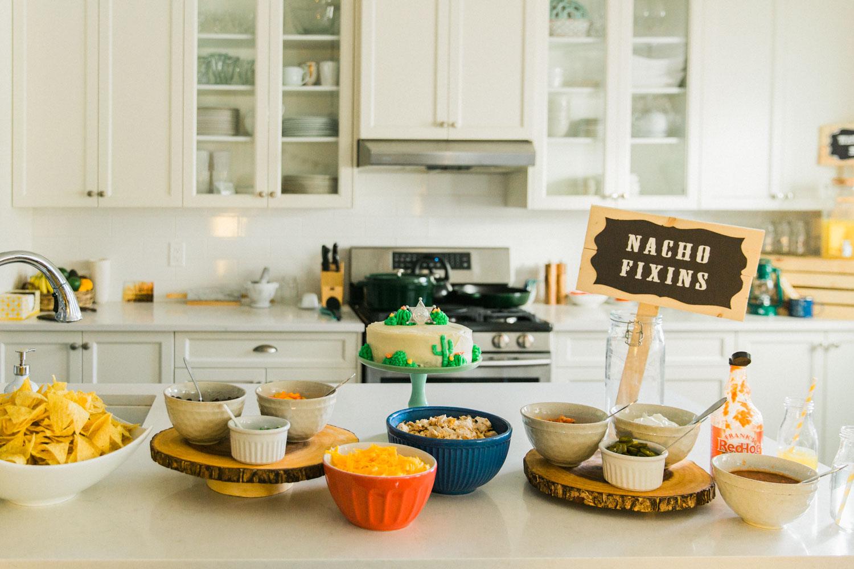 DIY Cowboy Birthday Party Decor Ideas Calgary Jennie Guenard Photography