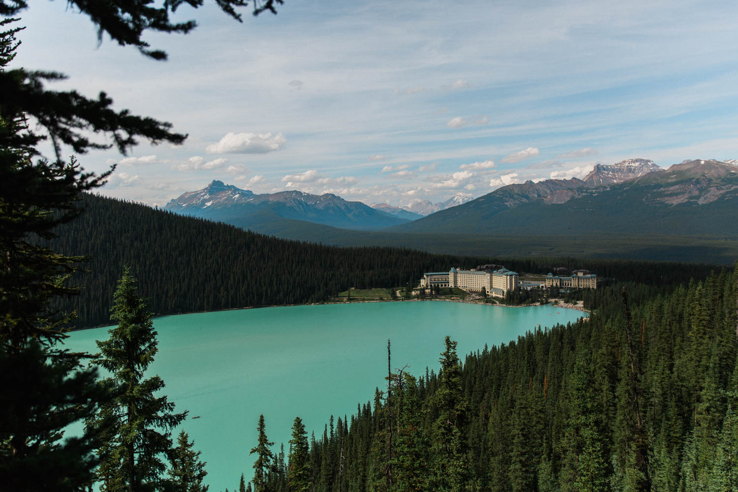 Easy Hike, Hiking with kids at Lake Louise Jennie Guenard Photography Lake Louise Photographer Fairview Lookout Fairmont Chateau Lake Louise