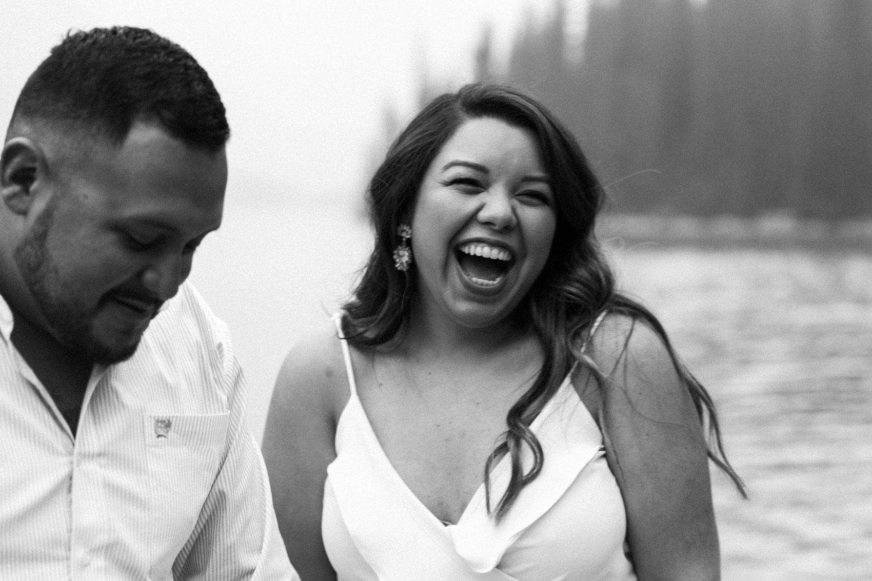 Lake Louise Mountain Engagement Photographer Moraine Lake Wedding Jennie Guenard Photography-13.jpg