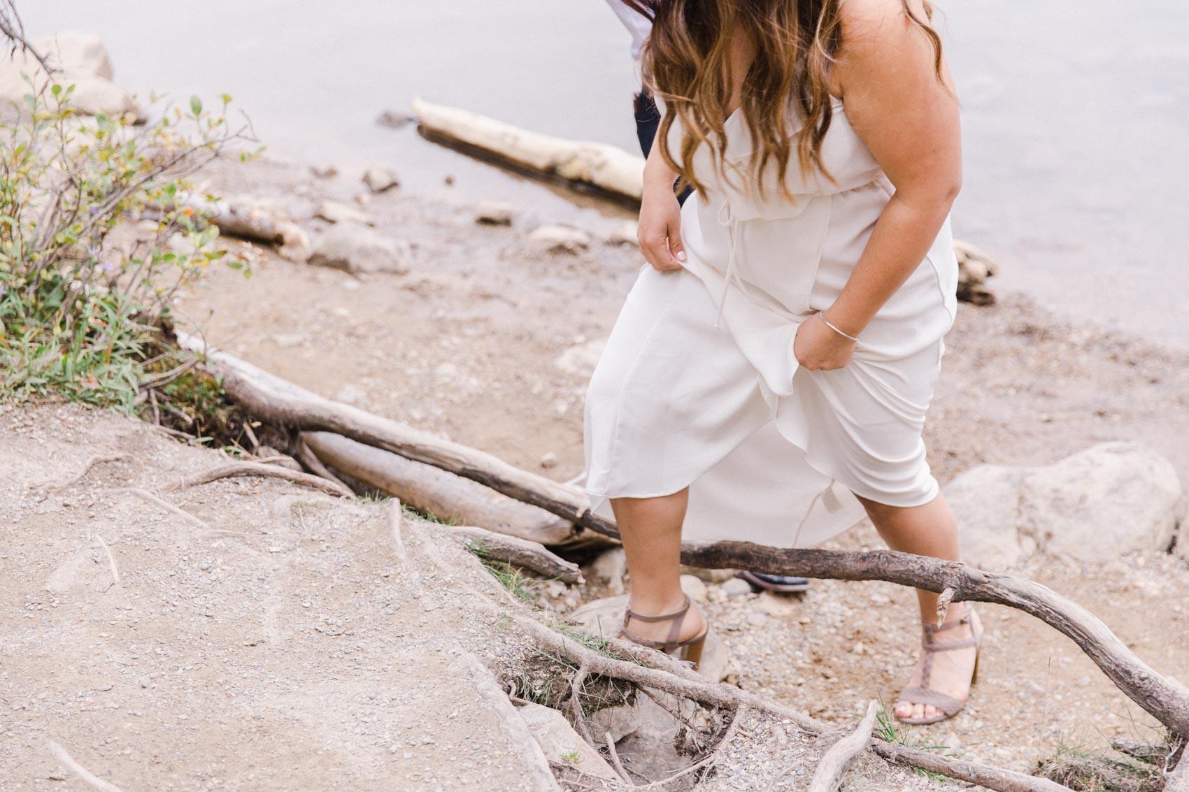 Lake Louise Mountain Engagement Photographer Moraine Lake Wedding Jennie Guenard Photography-9.jpg