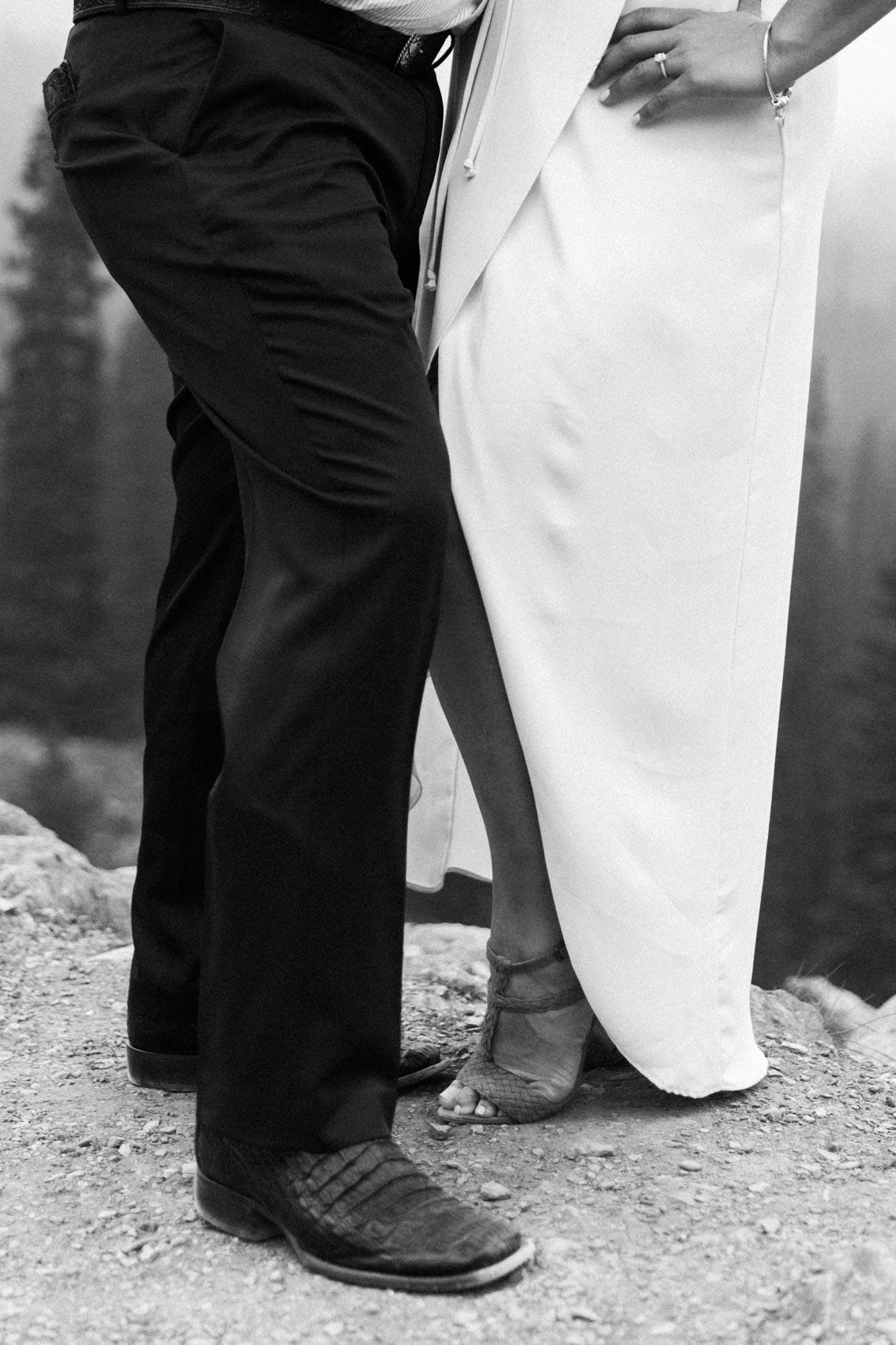 Lake Louise Mountain Engagement Photographer Moraine Lake Wedding Jennie Guenard Photography-22.jpg