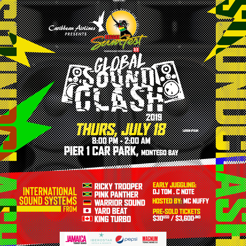 Global Sound Clash at Reggae Sumfest — Caribbean Dance Radio