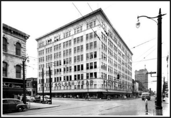 Pizitz Department Store during its heyday in 1949 | Image: Tim Hollis Collection