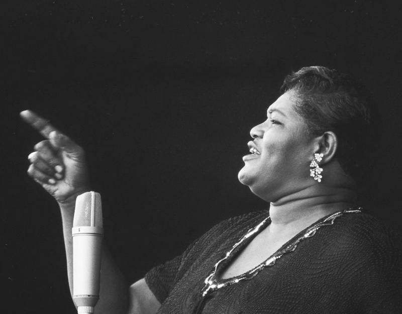 "Standing at six feet tall and weighing more than 300 pounds, Willie Mae got her nickname ""Big Mama"" almost instantly after taking the stage. Image: Dave Allen"
