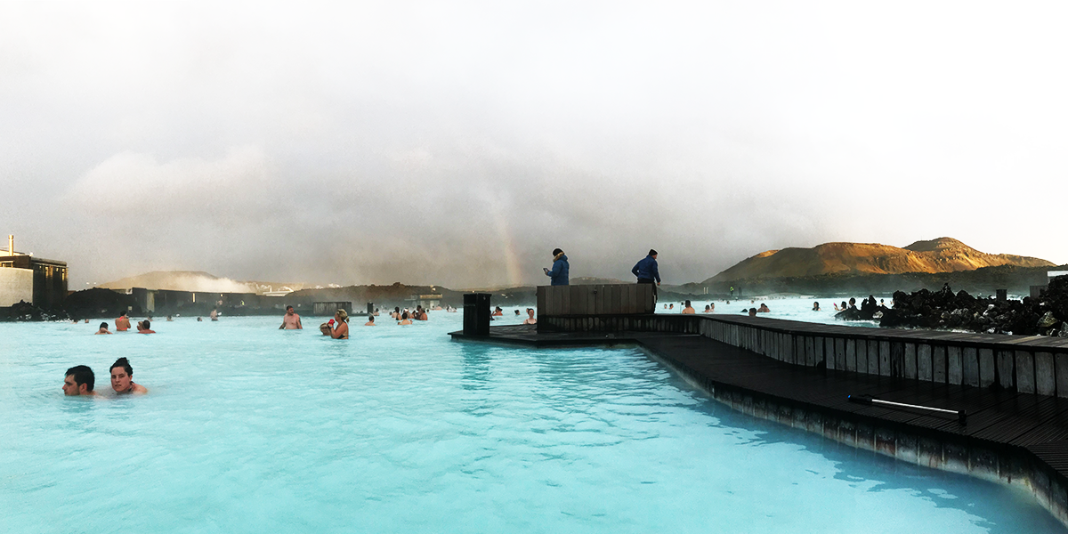 The Blue Lagoon — absolutely beautiful!