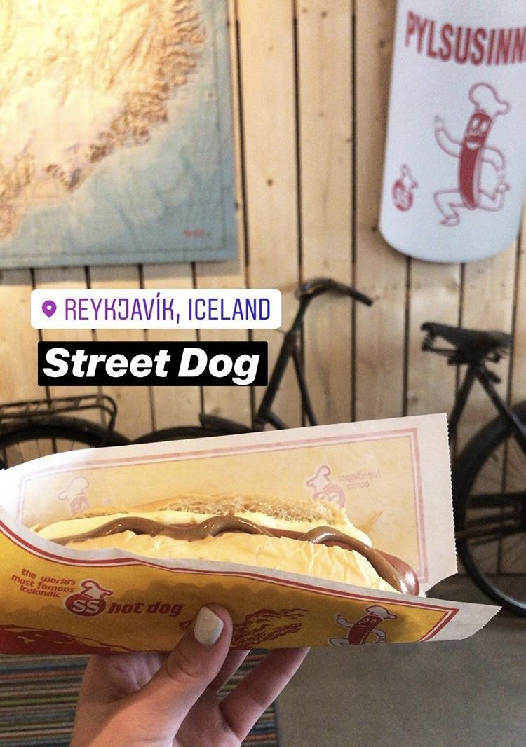 Icelandic hot dogs —so good!