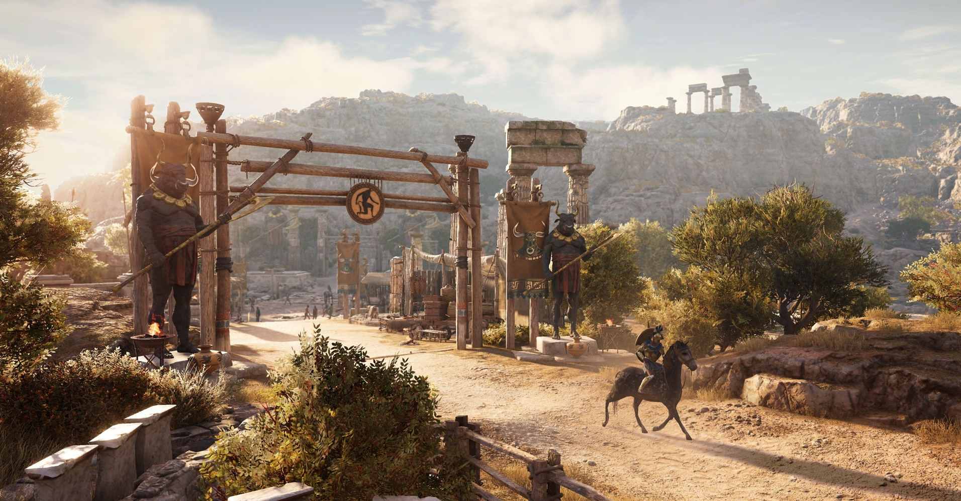 Assassin's Creed Odyssey  (2018) -Level Art