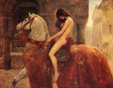 John Collier's painting of the ride.