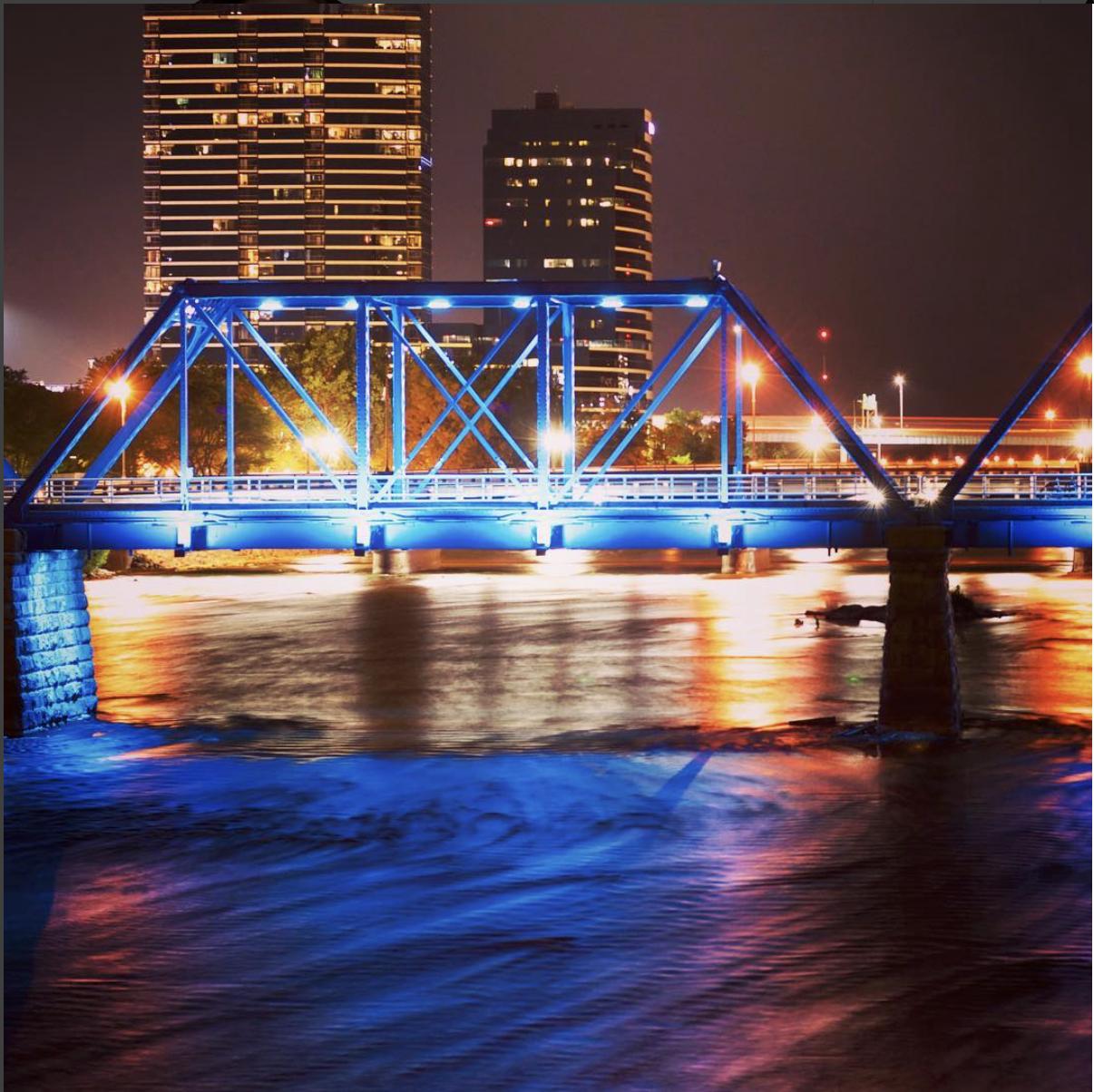 Bridge in Grand Rapids