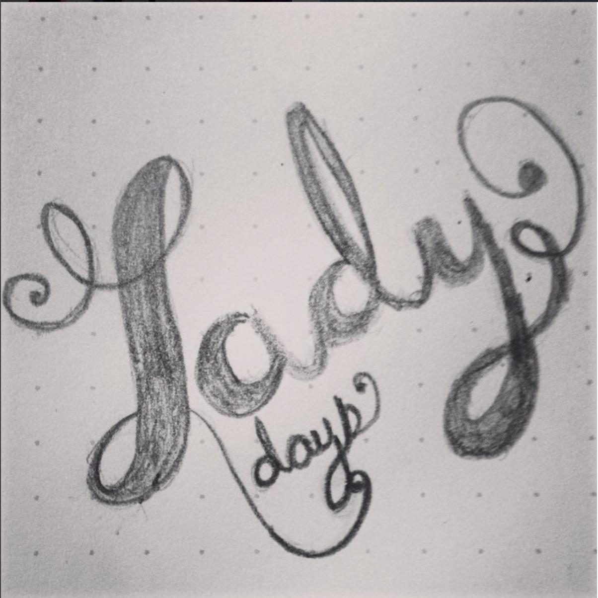 Lady Days Sketch