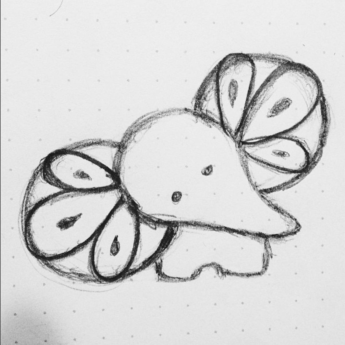 Baby Ele Sketch