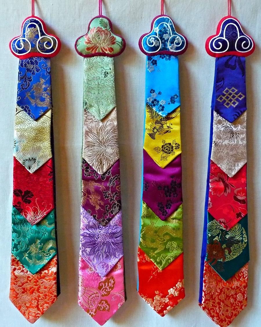 A Variety of Damaru Tails