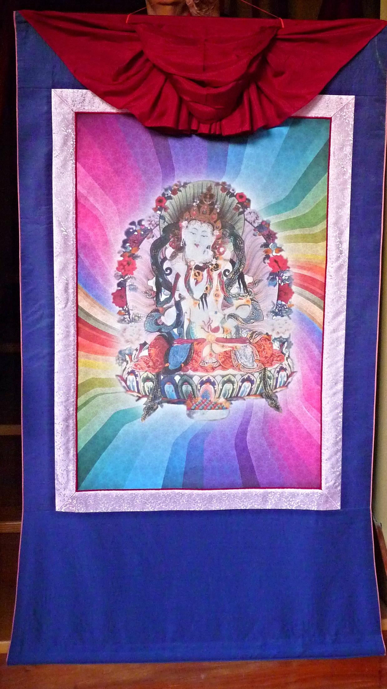 Frame for Vajrasattva Thangka