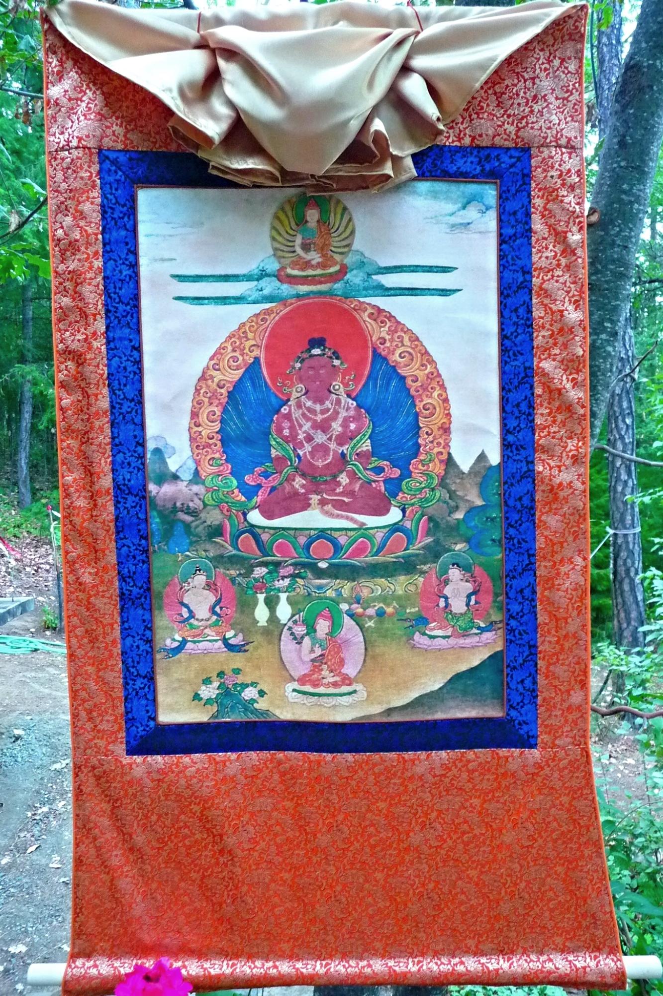 Brocade Frame for Chetsun Thangka