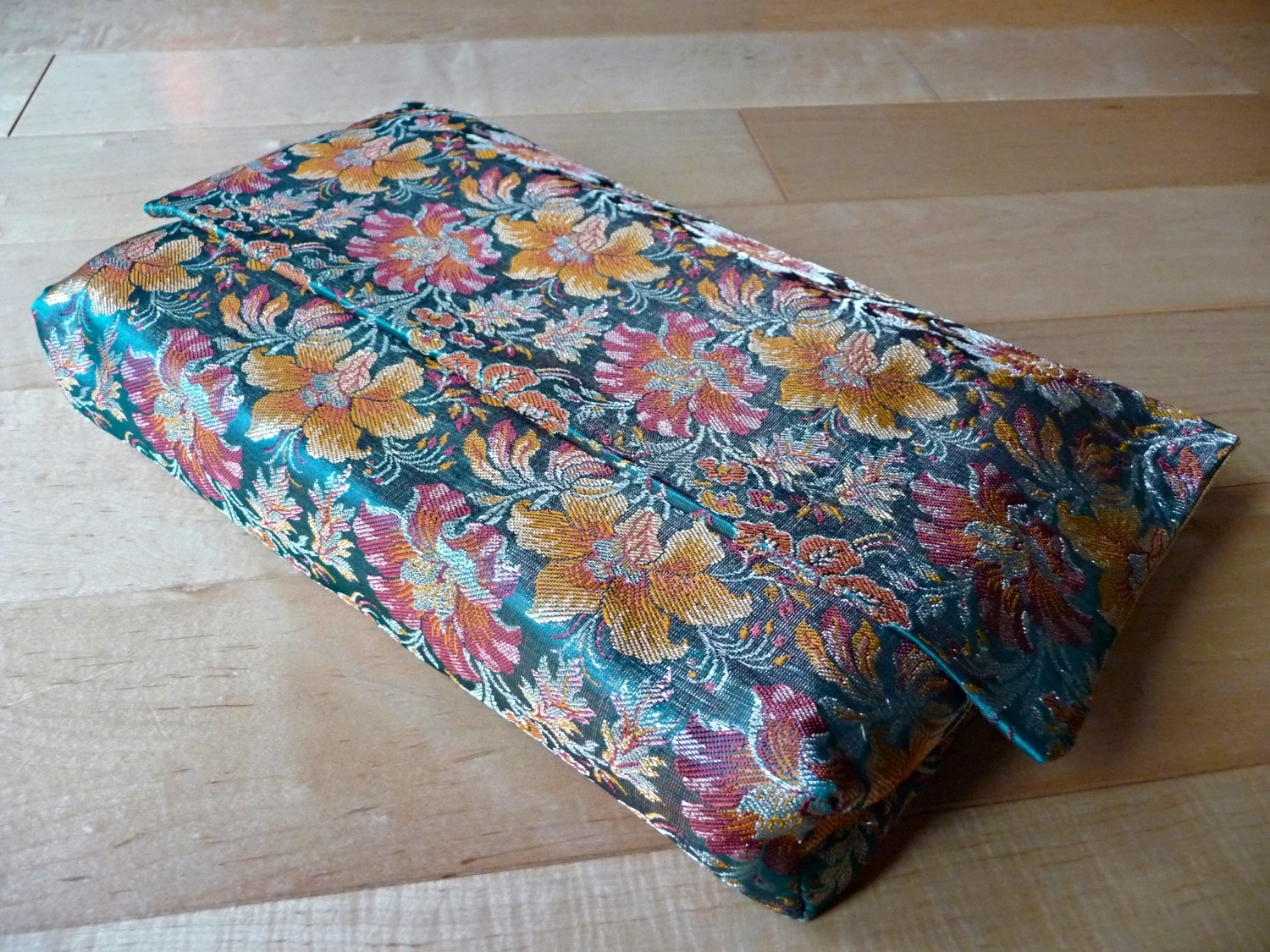 Book Cover made with Indian Brocade