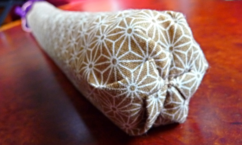 Shakuhasi Flute Cover - Asanoha Star Cotton