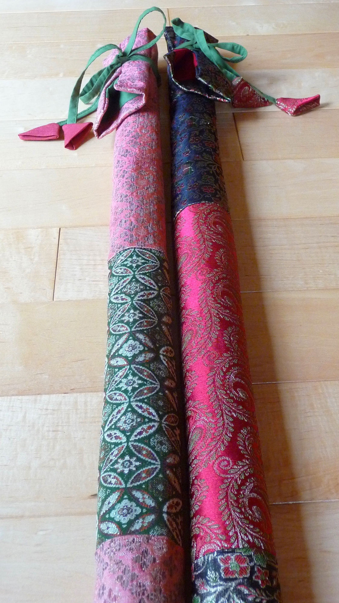Bansuri Flute Covers - Indian Brocade