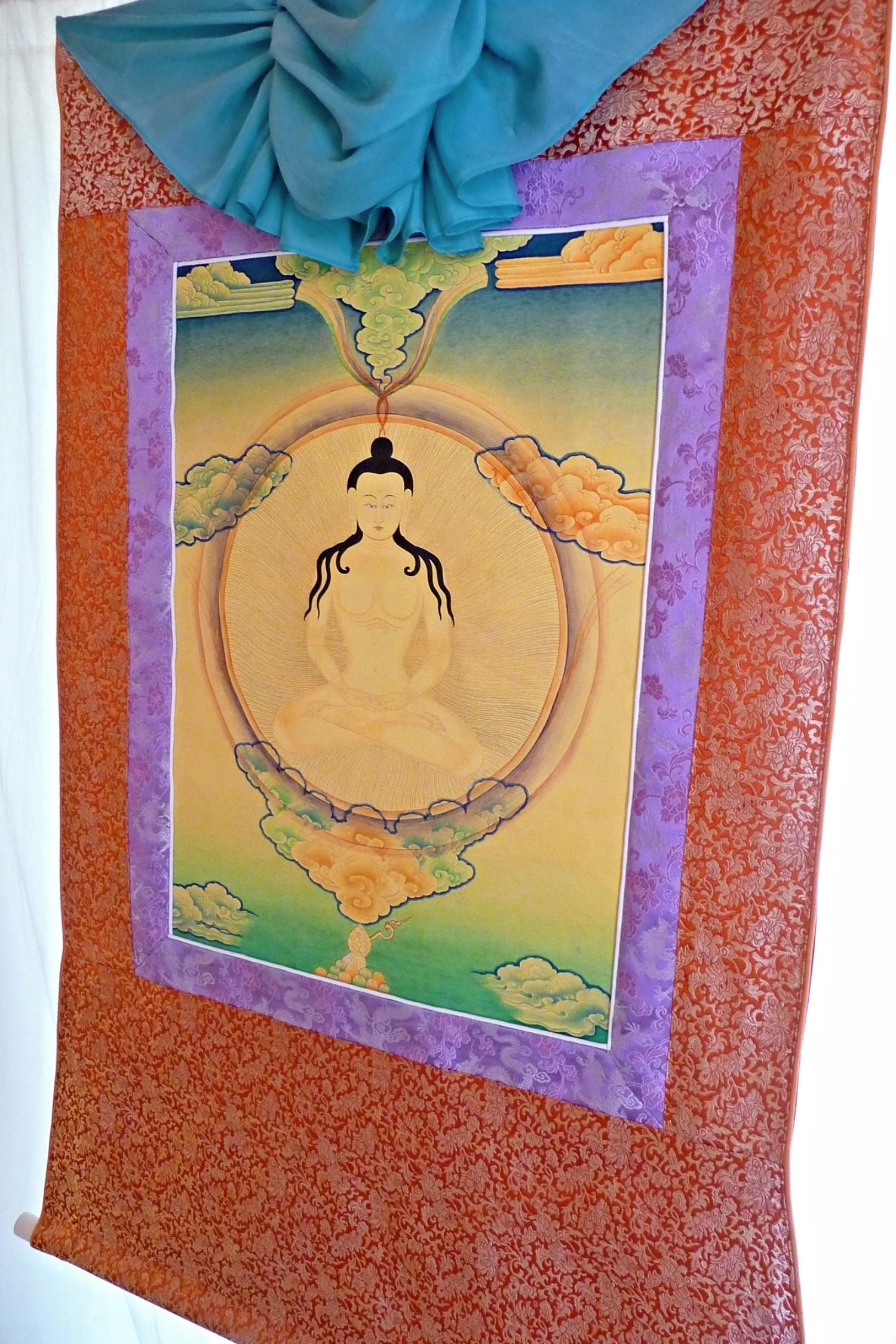 Brocade Frame for Garab Dorje Thangka