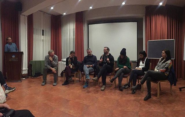 Panel discussion as part of #doingvisualpolitics program in Kathmandu. @alan_a_hill @donaldweber @turistatranscendental @olivervodeb @pdicampo @laia_abril @generalworks_project @vida_te_vidi