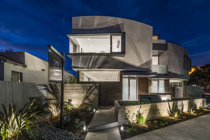 CLICK ON IMAGE  to view a GALLERY OF OUR  Modern   RESIDENTIAL DEVELOPMENT | VENICE, CA | PART I