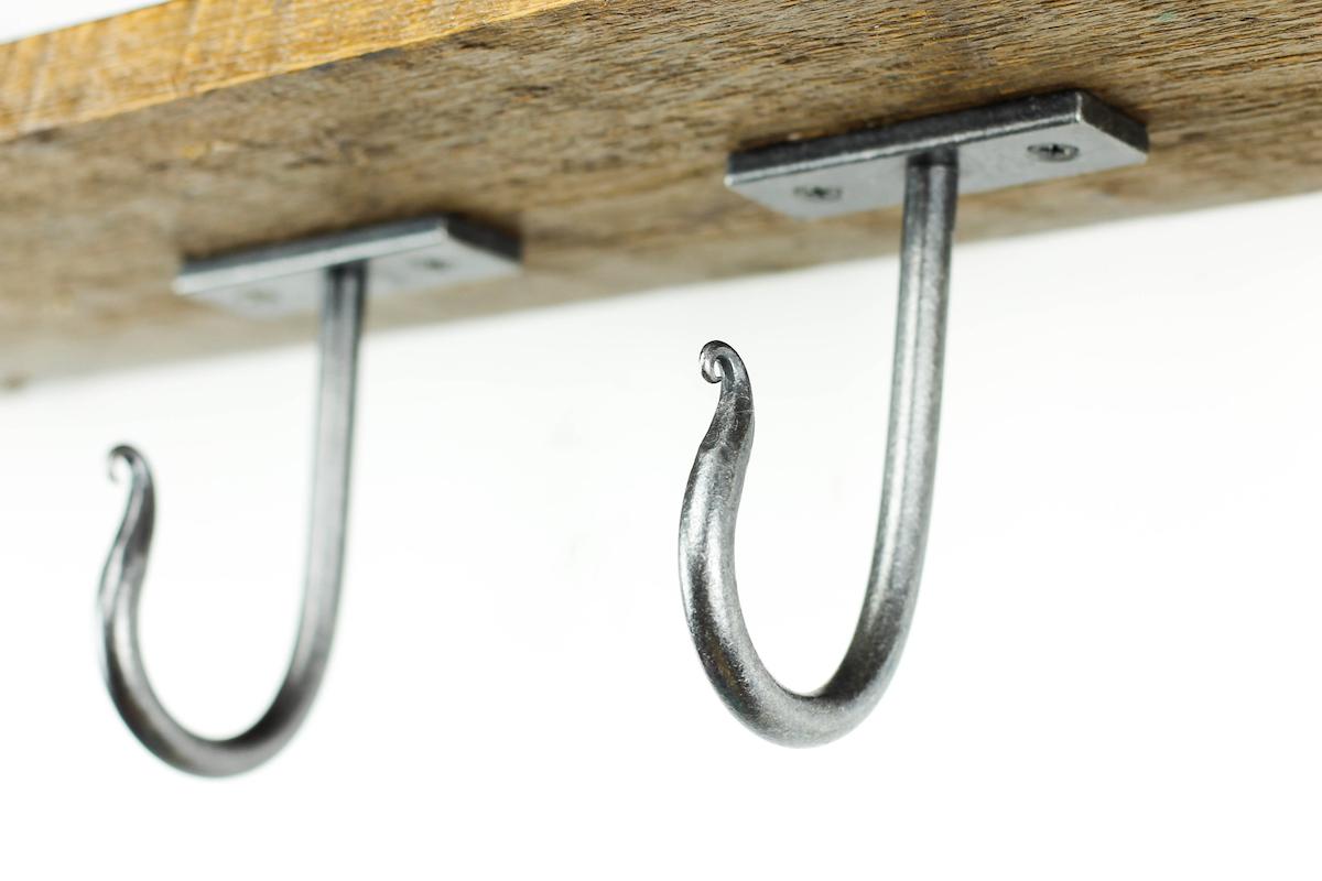 Clic Ceiling Hook Black Dog Ironworks
