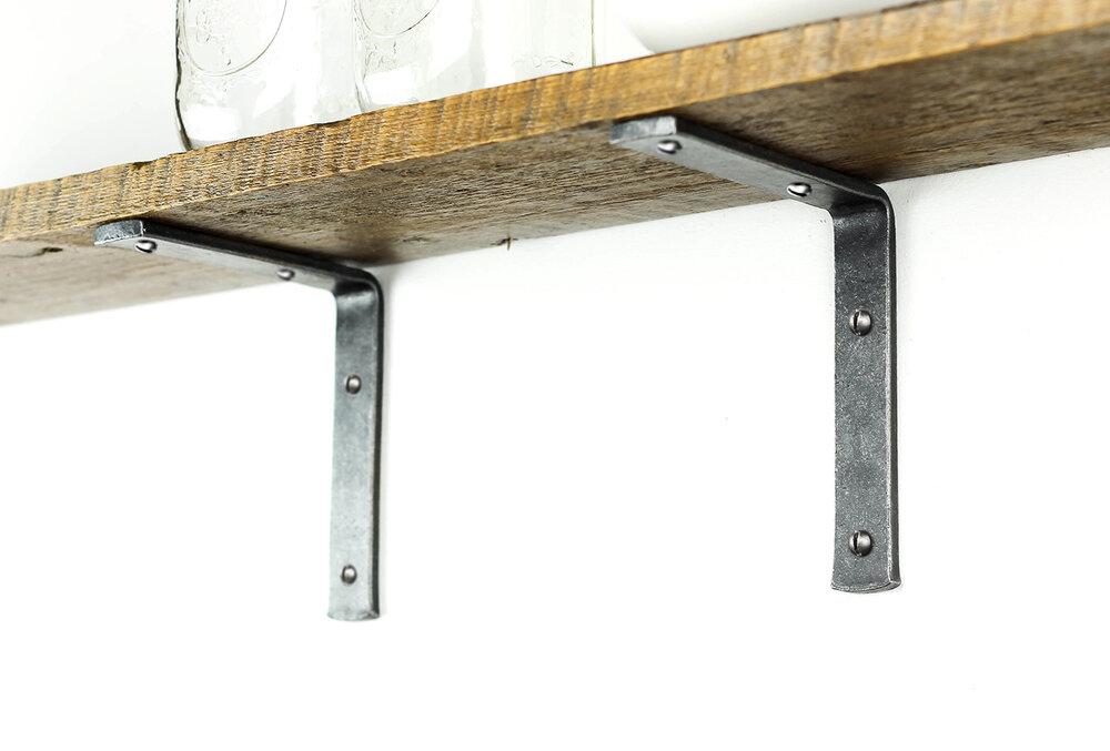 Simple Shelf Bracket Black Dog Ironworks
