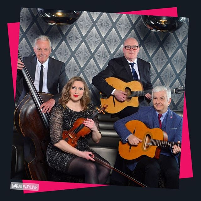 The weekend has officially begun!! 👏🏻👏🏻👏🏻 We're getting in the party mood with Rose Room on the speakers, because gypsy jazz always makes us feel like dancing 💃! Don't miss these guys at #winchjazzfest this year, it is going to such a great night!