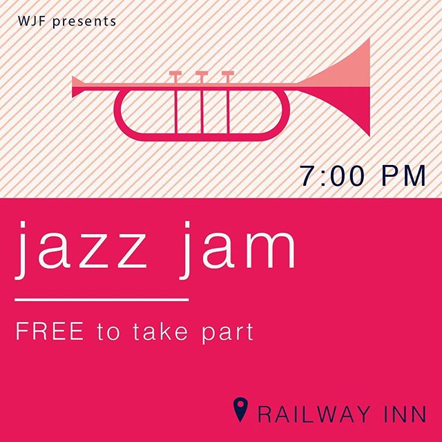 Do you play or sing? If so, we'd love to see you on Saturday 21st Sept at 7pm for our jazz jam at @railwaylive! It's free to come along if you'd like to take part, or £5 to come along and listen. We'll have our house band there to kick the night off and keep the music flowing. Drums, keyboard, bass and mics provided! Let us know below if you're coming along ⬇️⬇️⬇️