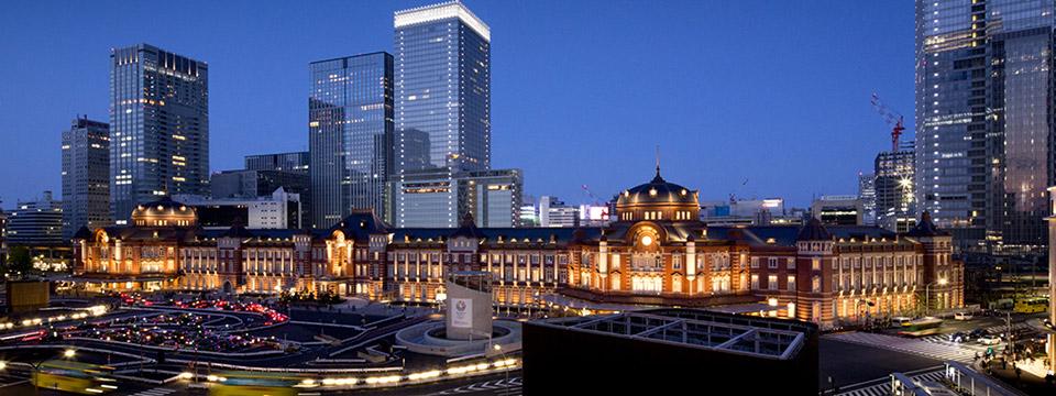 今現在の東京駅