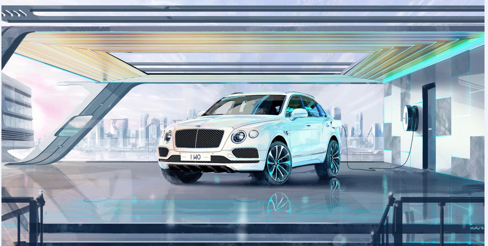 Bentley Connected Car