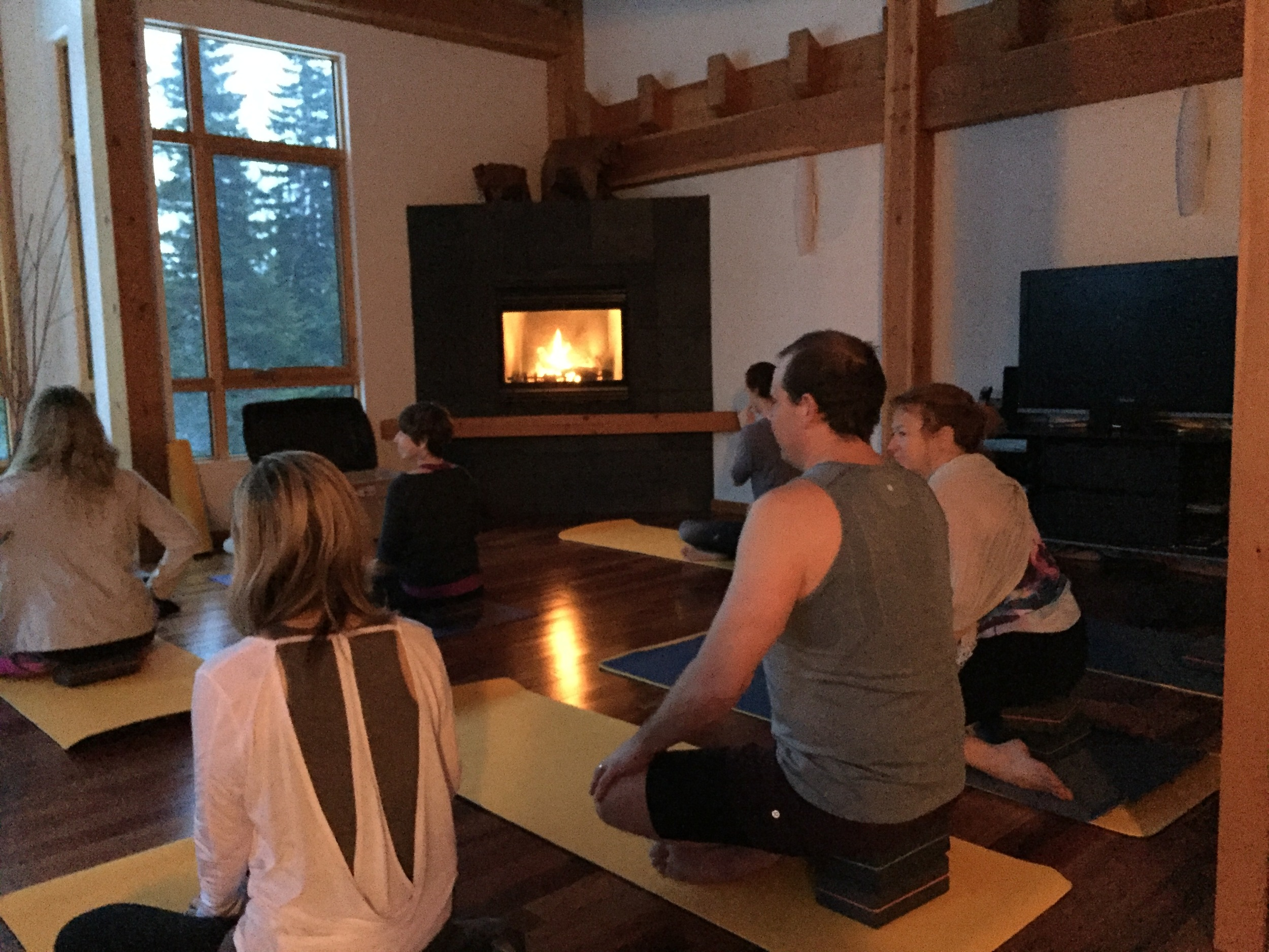 Fireside Meditation