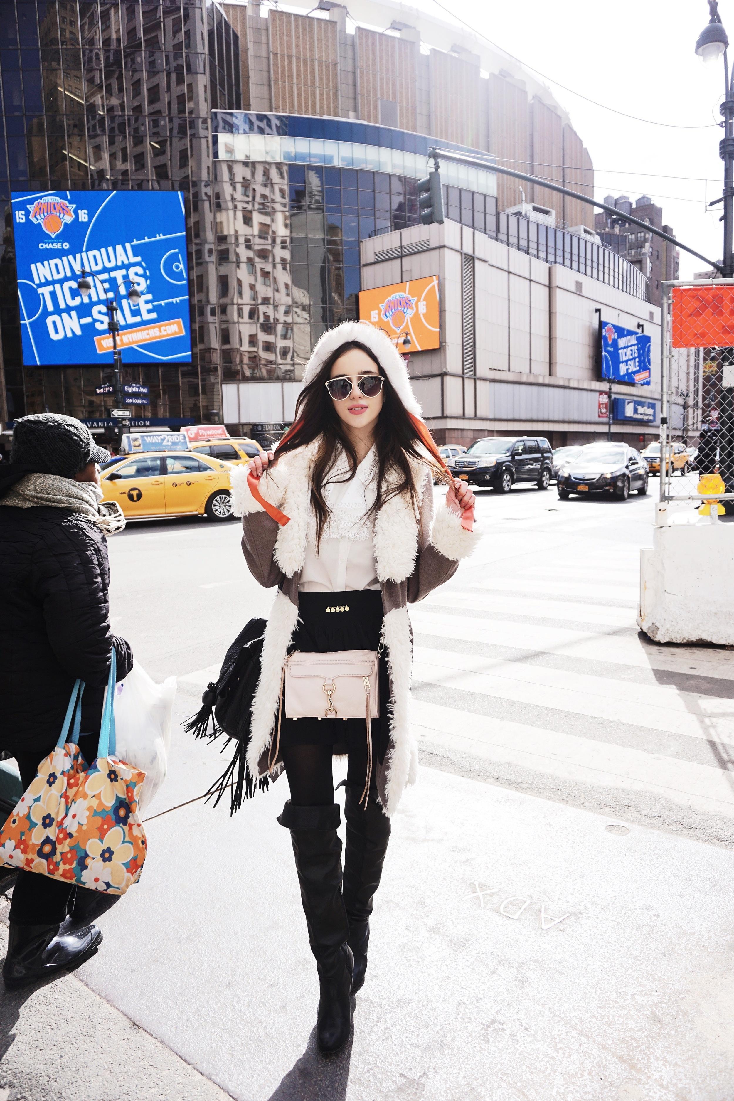hat:  vintage    sunglasses:   free people     blouse:  vintage    skirt:  vintage    jacket:  n/a    crossbody:   rebecca minkoff     bag:  urban outfitters    boots:  free people