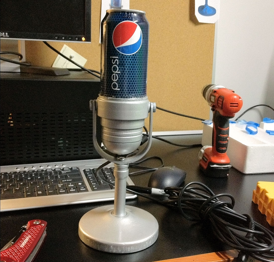 PEPSI: Can Microphone