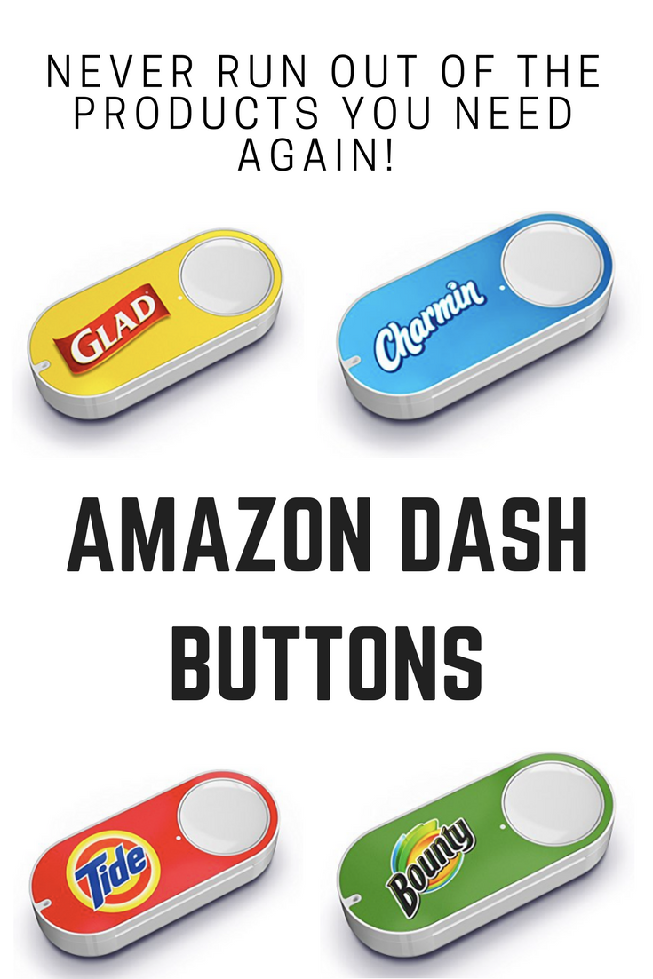 Amazon Dash Buttons-Caitlin Michelle