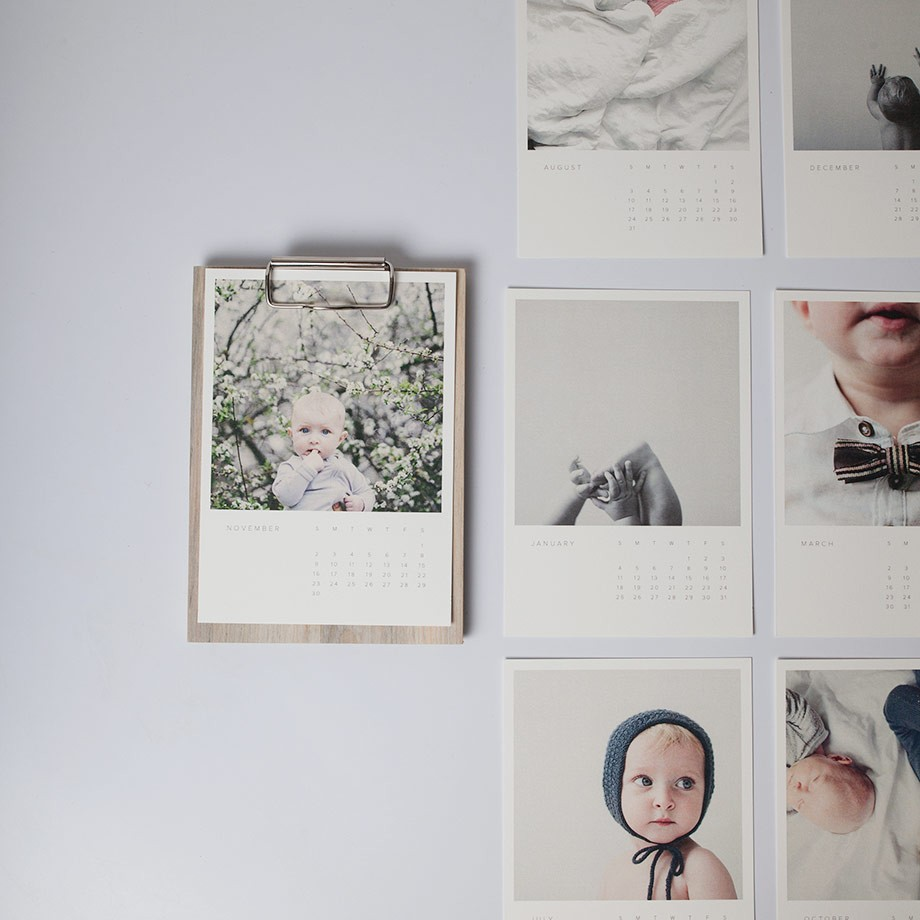 WOOD PHOTO CALENDAR  : $30   PERFECT FOR : Anyone using the Gregorian calendar. Made with reclaimed wood and your very own photos.   Artifact Uprising
