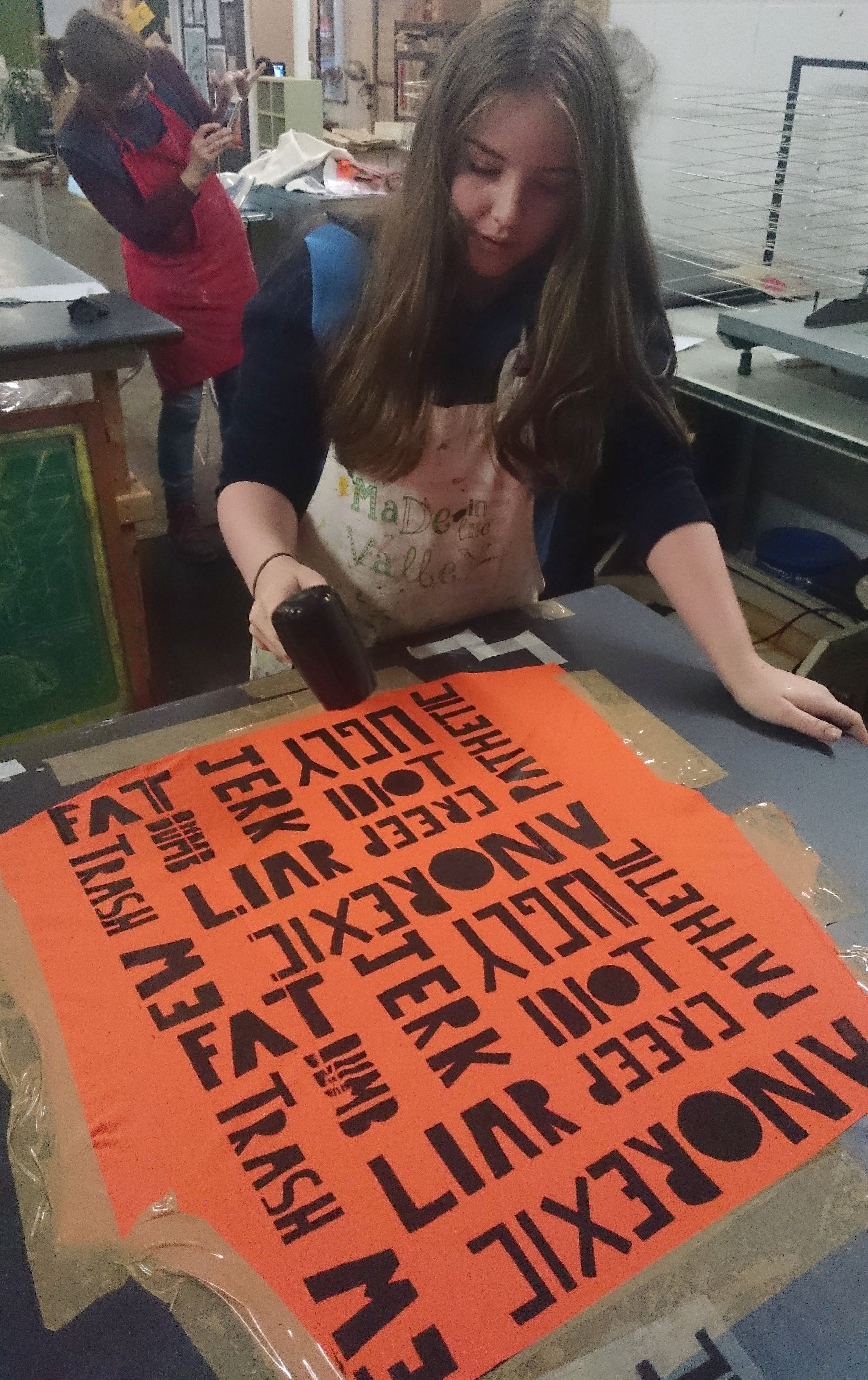 Drying the printing ink