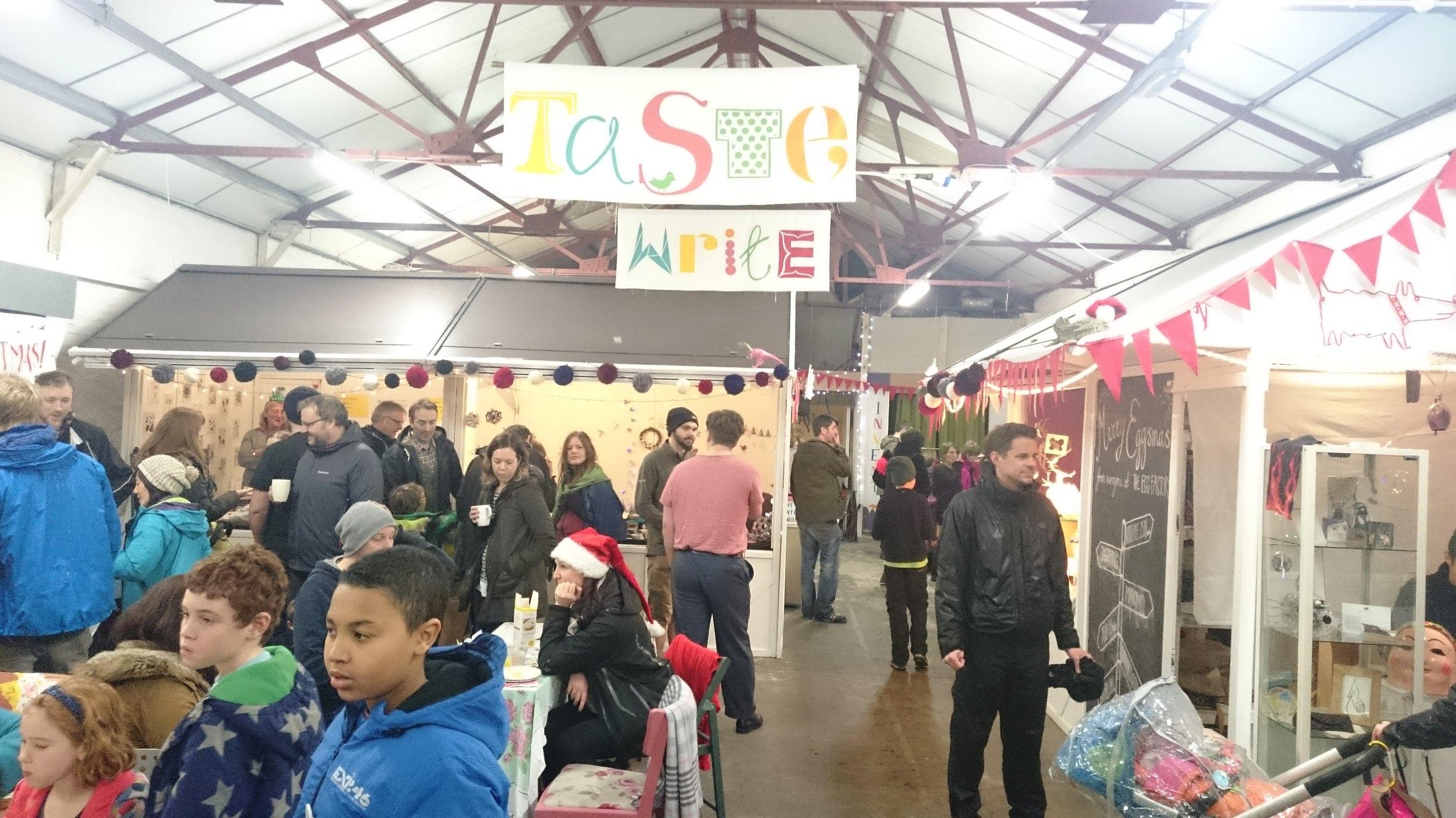 The Egg Factory, Eggsmas Christmas Fair
