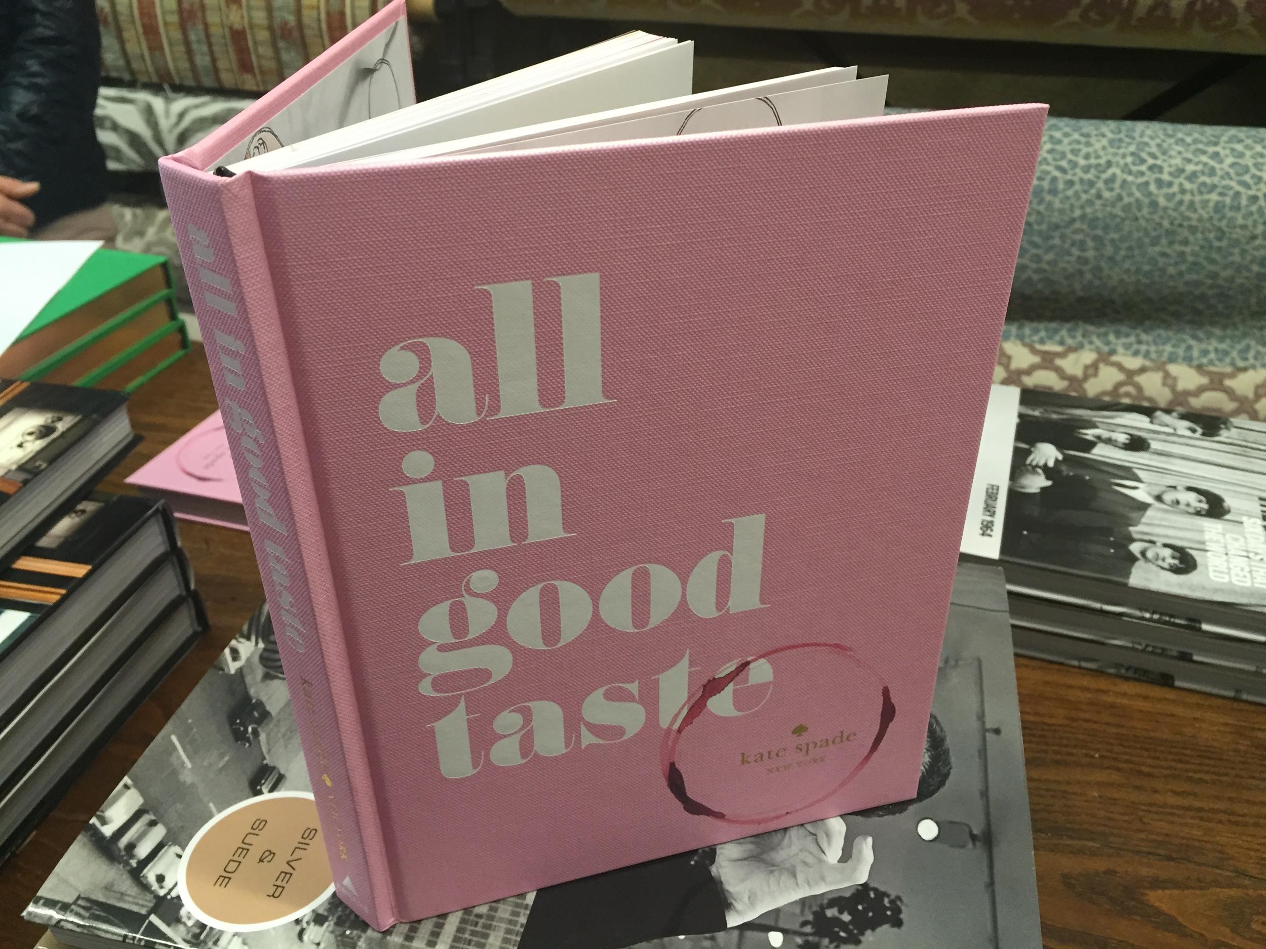 All In Good Taste by Kate Spade
