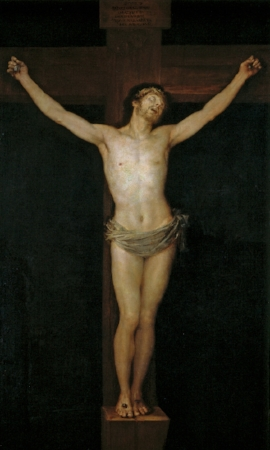 Cristo crucificado   (1780)by Francisco de Goya
