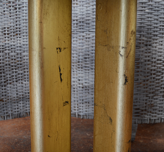 Gilded Pedestal Table