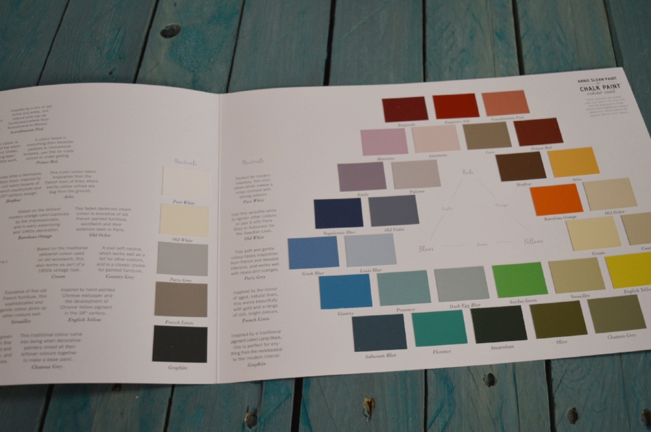 How cool is it that the Color Cards come with swatches printed with REAL paint? These are very informative and accurate in helping you make your color choices, giving information about the history behind color names too.