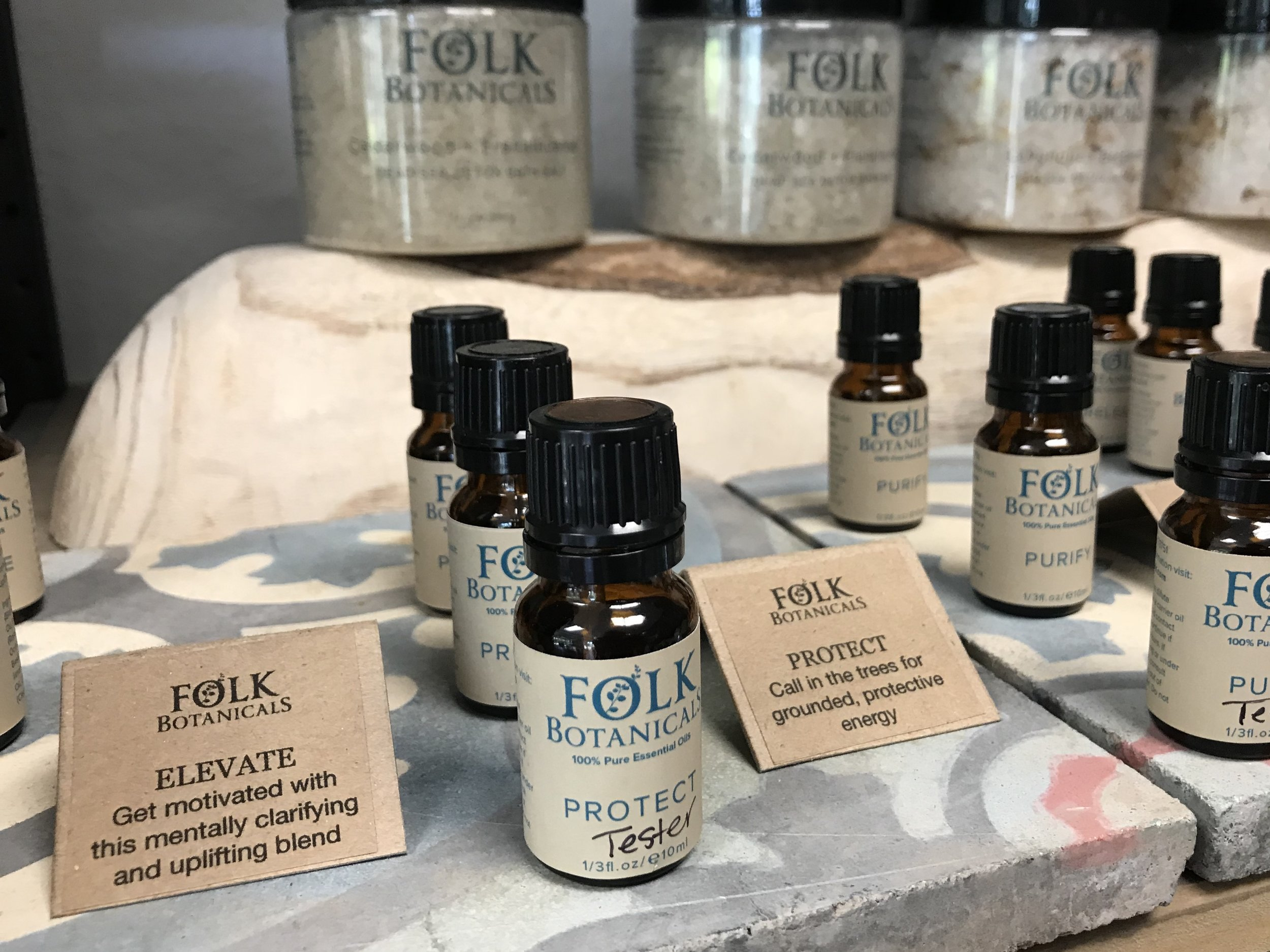 Folk Botanicals - All natural & hand crafted