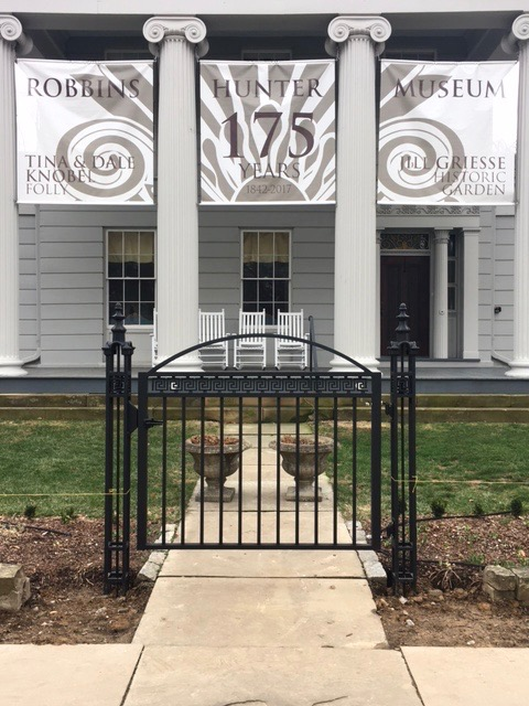 The gate is finished. Powder coating on the fence is being completed and installation will follow.