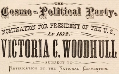 Presidential flyer 1872