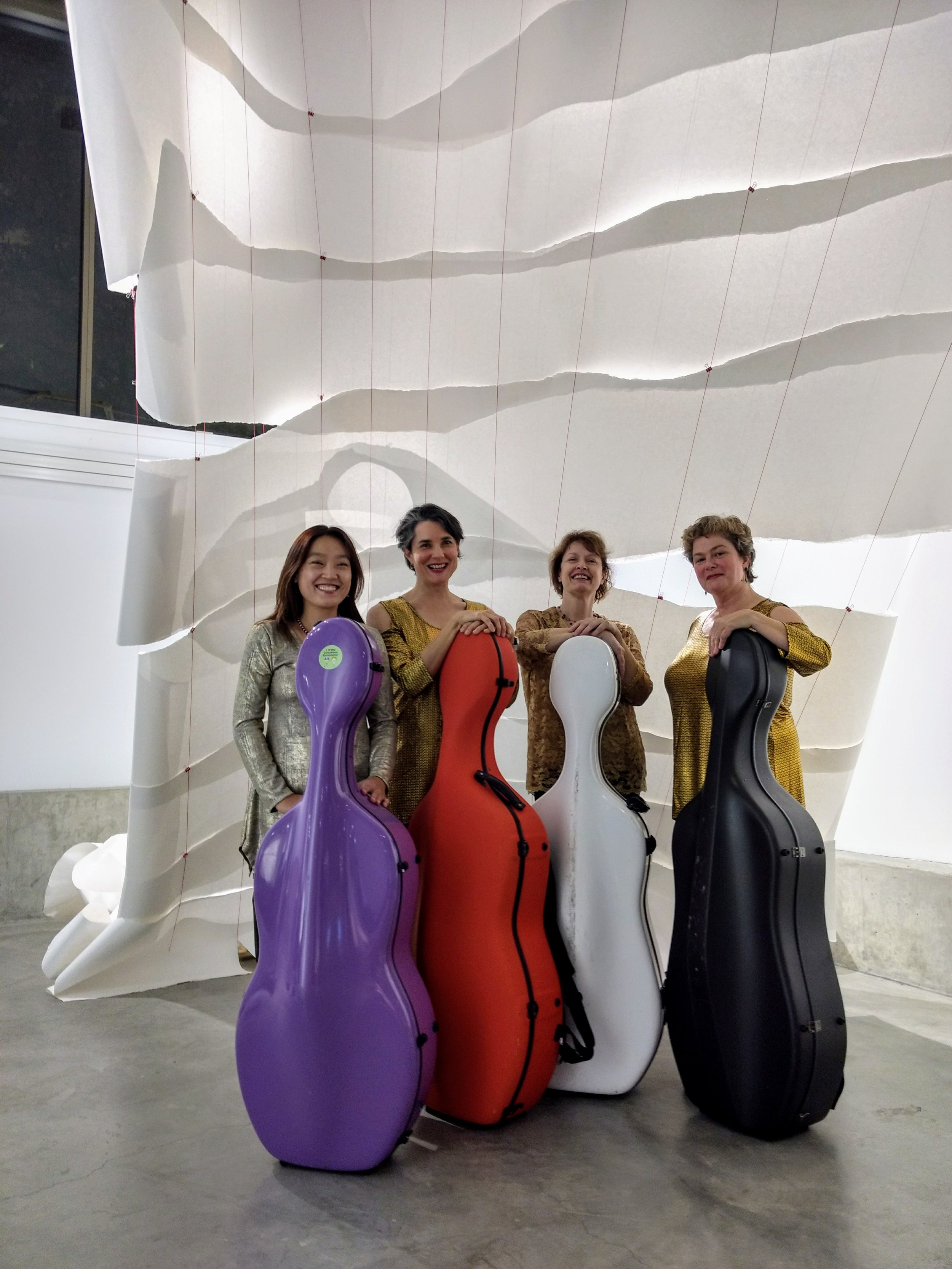 UCELLI - A quartet of virtuoso cellists performing unique and exciting music of the past and present!
