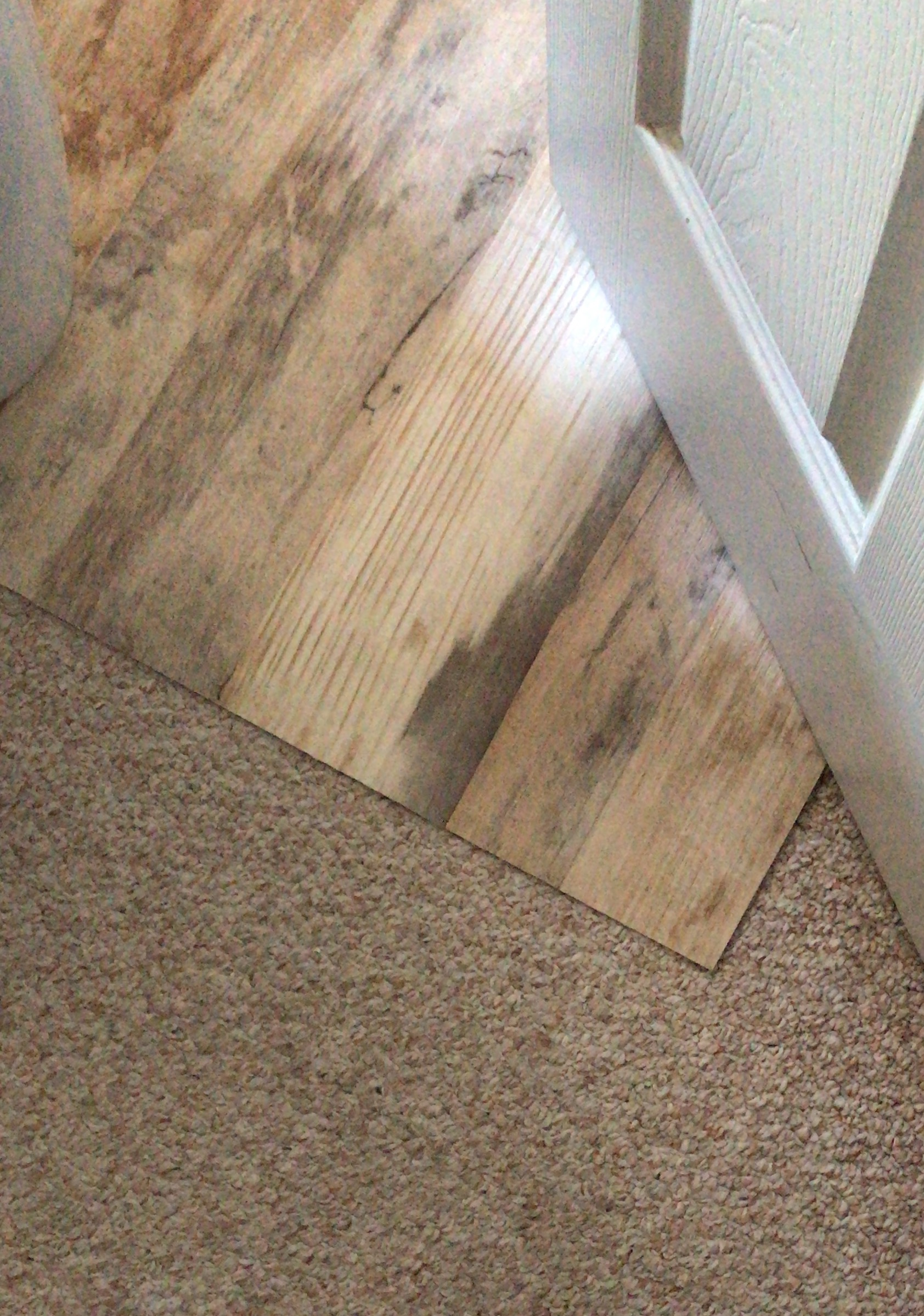 TEMPORARY WOOD FLOOR FOR RENTERS — Make Pretty Stuff
