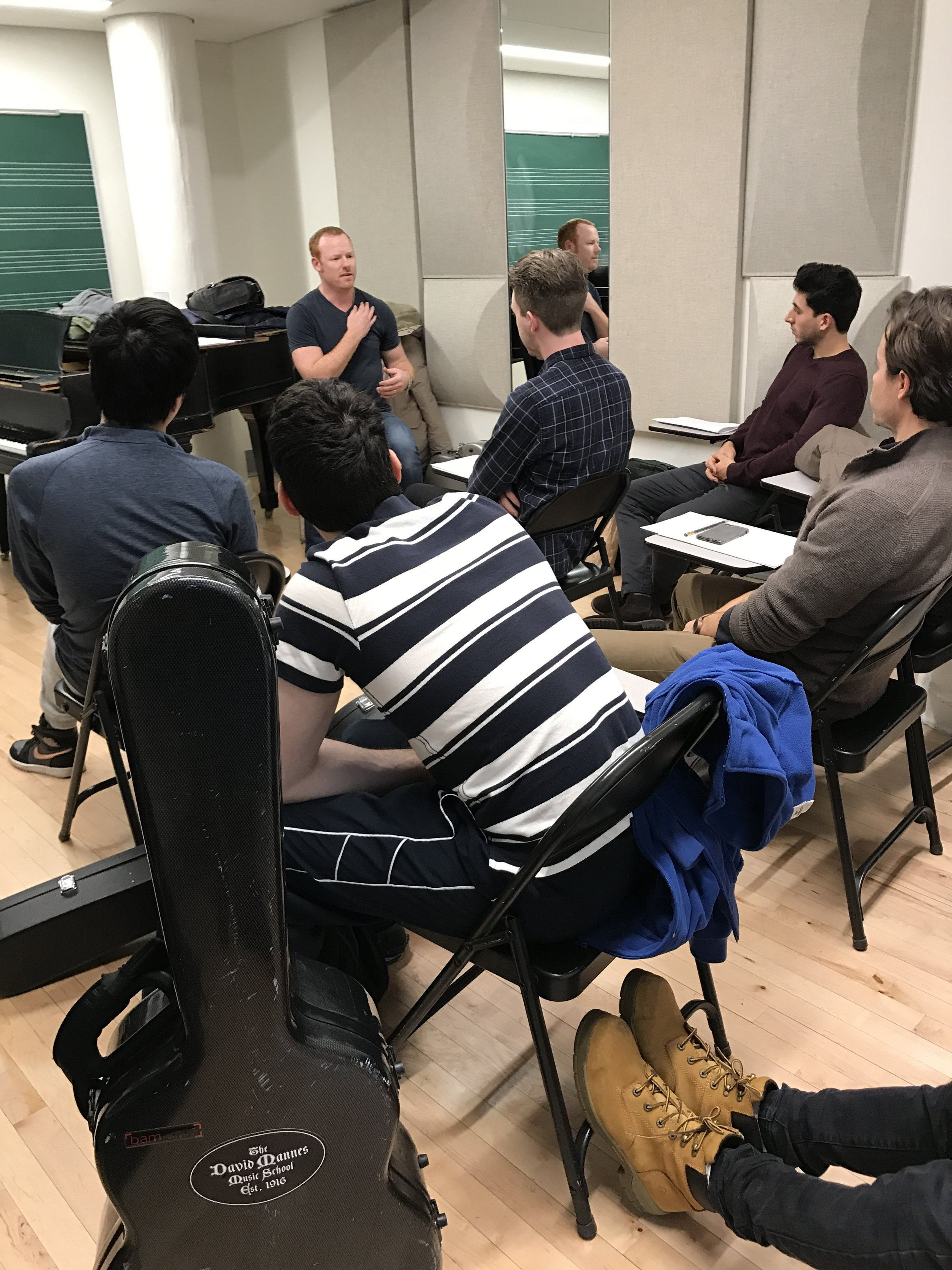 "EnTune Fitness Workshop ""Achieving Peak Performance""  Mannes: The New School Guitar Department"